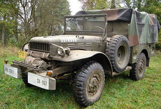 Dodge WC 52 3/4t, mit Winde Oldtimer