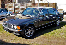 BMW 745 Turbo Oldtimer
