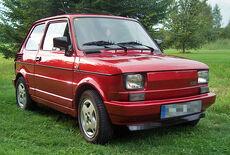 Polski Fiat 126 Oldtimer