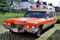 Cadillac Ambulance Oldtimer