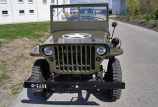 Willys MB Jeep Hotchkiss Oldtimer