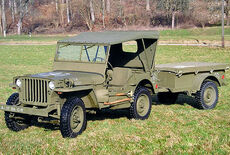 Willys Overland MB Jeep Oldtimer