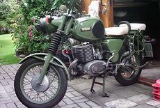 MZ TS 250 Oldtimer