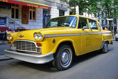 Checker Taxi Oldtimer