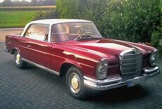 Mercedes-Benz 220seb Coupe Oldtimer