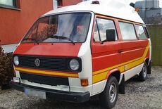 VW T3 Krankentransporter Oldtimer