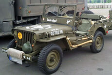 Willys Overland Jeep M201 Oldtimer