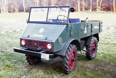 Unimog Cabrio Oldtimer