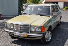 Mercedes-Benz W123 300 TD Turbodiesel Oldtimer