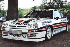 Opel Manta 400 Rallye Oldtimer