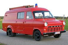 Ford Transit 1300 Feuerwehrfahrzeug TSF Oldtimer