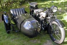 Ardie TM 500 mit Beiwagen Oldtimer