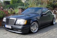 Mercedes-Benz E 320 AMG Coupe W124 Oldtimer