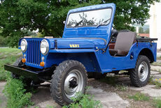 Willys MB Jeep CJ3A Oldtimer