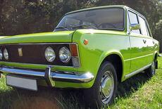 Polski Fiat 125p Oldtimer