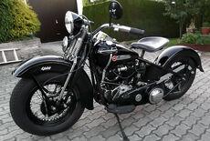 Harley Davidson Knucklehead Oldtimer