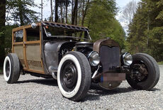 Ford Model A Woody Hot Rod Oldtimer