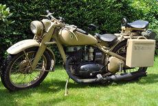 DKW NZ 350-1 Oldtimer