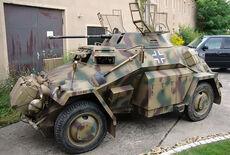 Panzerspähwagen Sdkfz 222 Oldtimer