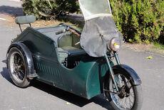 Poirier Versehrtenfahrzeug Oldtimer