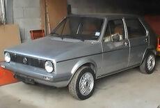 VW Golf 1 Oldtimer