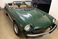 Fiat Spider CS Oldtimer
