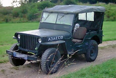 Willys Hotchkiss MB M201 Oldtimer
