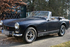 MG Midget Mark III British Leyland Oldtimer