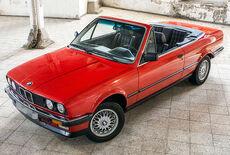 BMW 320i Cabriolet E30 Oldtimer