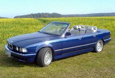 BMW 735i Cabrio Oldtimer
