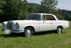 Mercedes-Benz W111 220 se Coupe Oldtimer