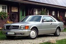 Mercedes-Benz 500 SEC (C126) Oldtimer