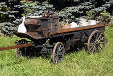 Gebirgs-Fourgon Transportkutsche Oldtimer