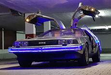 DeLorean DMC-12 mit optionalem Zeitmaschinen-Heckaufbau Oldtimer