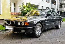 BMW 740i E32 Oldtimer
