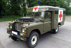 Land Rover 109 Serie III Ambulance Oldtimer