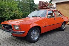 Opel Rekord D Oldtimer