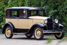 Ford Model A Four Door Sedan Oldtimer