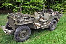 Willys Overland Jeep MB Oldtimer