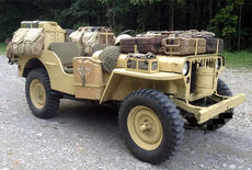 Willys MB Jeep Oldtimer
