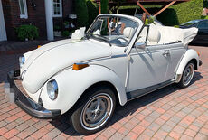 VW Käfer Cabrio 1303 1.6 Triple White Oldtimer