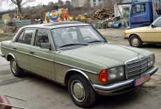 Mercedes-Benz W123 240 D Limousine
