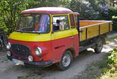 Barkas B 1000 Pritsche