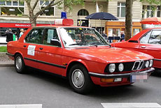 BMW 525i (E28) Feuerwehr