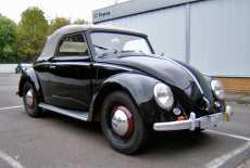 VW Käfer Hebmüller Cabrio