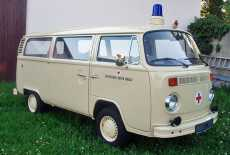 VW T2b DRK Behelfskrankenwagen
