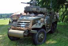 White M3a1 Halftrack