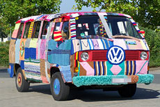 VW T3 Bulli Strickbulli