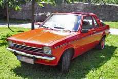 Opel Kadett C Aero Baur Cabrio