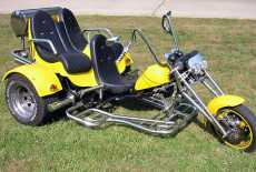 Eigenbau 3-Sitzer-Trike